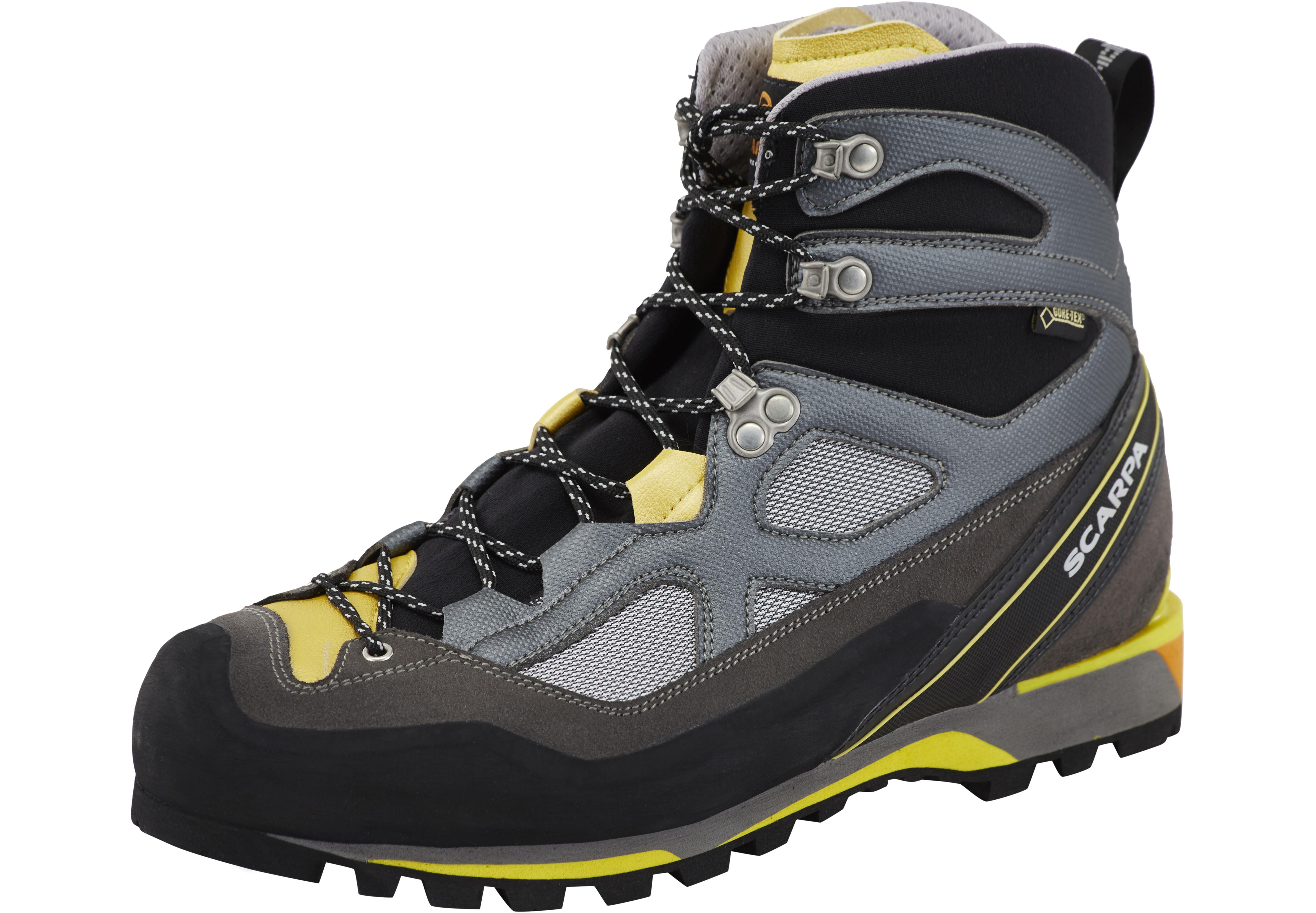 quality design 4d63d 8fa3e Scarpa Rebel Lite GTX Shoes Men gray/lemon